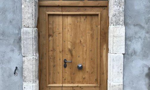 Porte d'entrée sur mesure à Draguignan